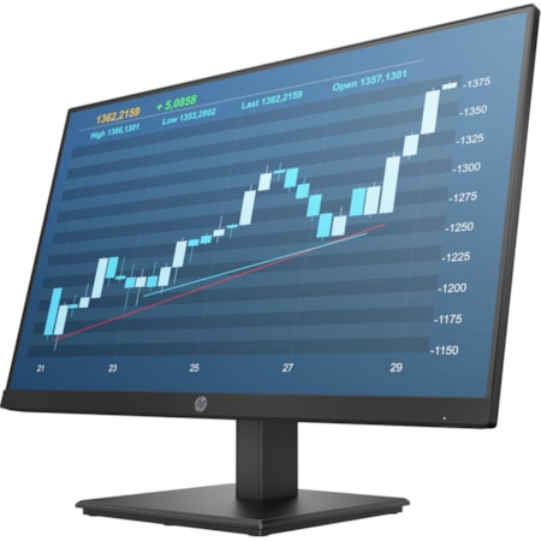 "HP P244 60.5 cm (23.8"") Full HD WLED LCD Monitor - 16:9 - Black"