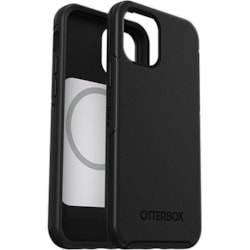 OtterBox Symmetry Series+ Case for Apple iPhone 12, iPhone 12 Pro Smartphone - Black