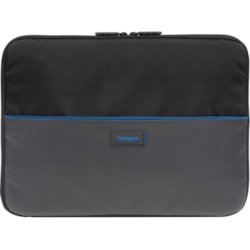 """Targus Work-In TED012GL Carrying Case (Sleeve) for 29.5 cm (11.6"""") Accessories, Notebook, Chromebook - Black/Grey"""