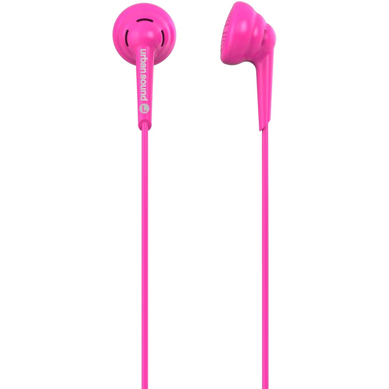 Verbatim Urban Sound Wired Earbud Binaural Stereo Earphone