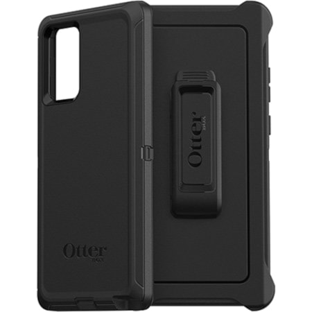 OtterBox Defender Carrying Case (Holster) Samsung Galaxy Note20 5G Smartphone - Black