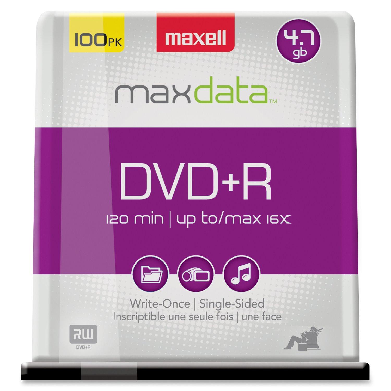 Maxell DVD+R 100PK 16X