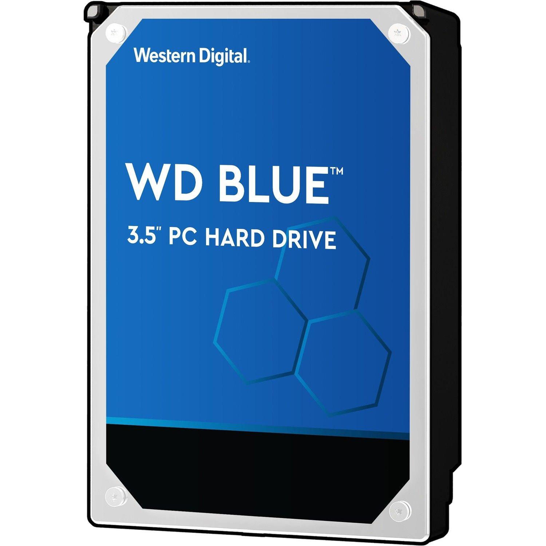"""WD Blue WD10EZEX 1 TB Hard Drive - 3.5"""" Internal - SATA (SATA/600)"""