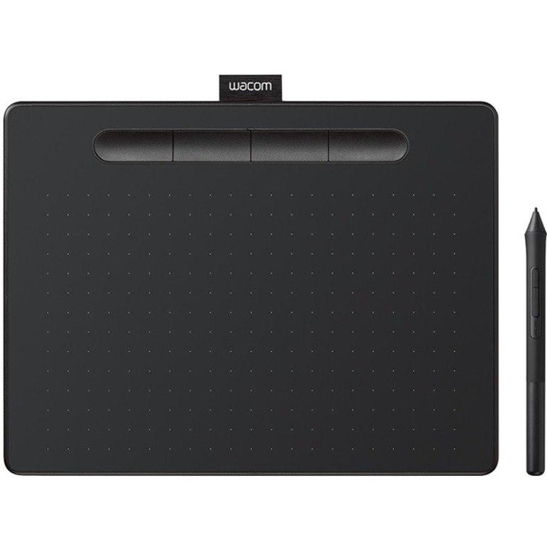 Wacom Intuos CTL-4100 Graphics Tablet - 2540 lpi - Cable - Black