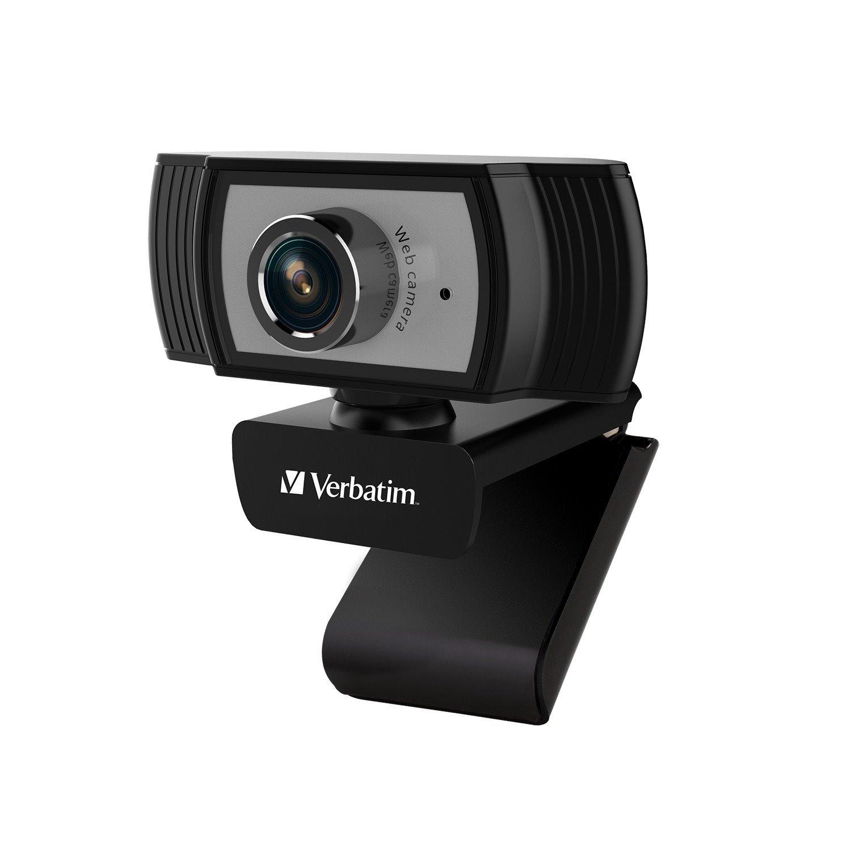 Verbatim Webcam - 2 Megapixel - 30 fps - Black, Silver - USB 2.0