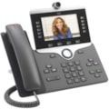 Cisco 8845 IP Phone - Corded/Cordless - Corded - Bluetooth - Wall Mountable - Charcoal