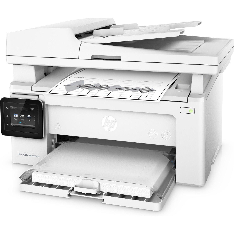 HP LaserJet Pro M130 M130fw Wireless Laser Multifunction Printer - Monochrome