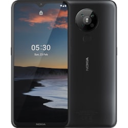 """Nokia 5.3 64 GB Smartphone - 16.6 cm (6.6"""") LCD HD+ 720 x 1600 - 4 GB RAM - Android 10 - 4G - Charcoal"""