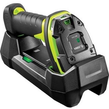 Zebra DS3678-SR Rugged Handheld Barcode Scanner - Wireless Connectivity - Industrial Green
