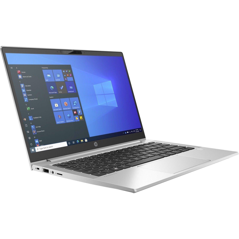 "HP ProBook 430 G8 33.8 cm (13.3"") Rugged Notebook - HD - 1366 x 768 - Intel Core i5 (11th Gen) i5-1135G7 Quad-core (4 Core) - 8 GB RAM - 256 GB SSD - Pike Silver Plastic"