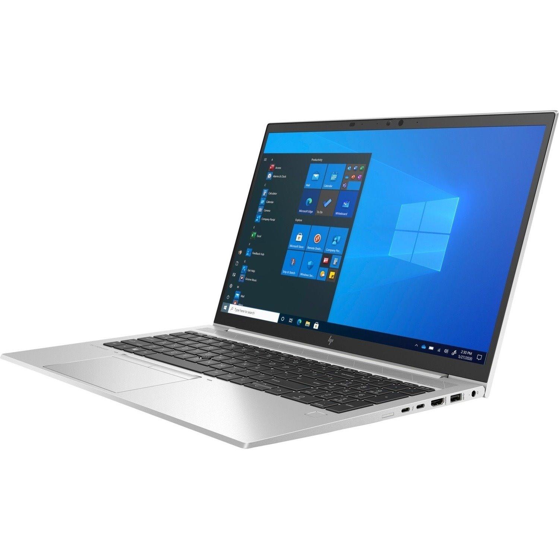 "HP EliteBook 850 G8 39.6 cm (15.6"") Notebook - Full HD - 1920 x 1080 - Intel Core i5 11th Gen i5-1145G7 Quad-core (4 Core) - 8 GB RAM - 256 GB SSD"