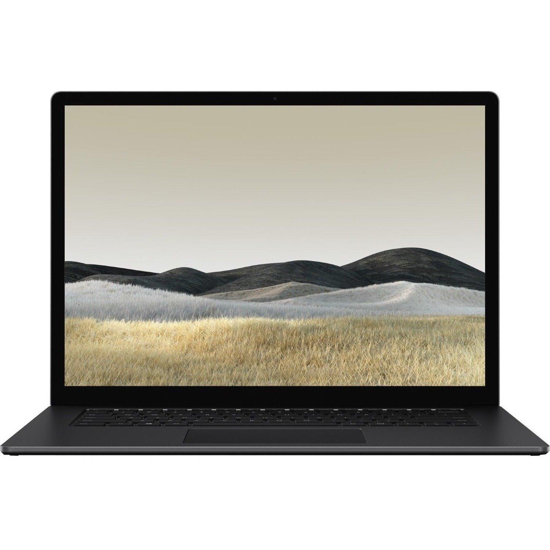 "Microsoft Surface Laptop 3 13.5"" Touchscreen Notebook - 2256 x 1504 - Intel Core i7 10th Gen i7-1065G7 Quad-core (4 Core) 1.30 GHz - 16 GB RAM - 256 GB SSD - Matte Black"