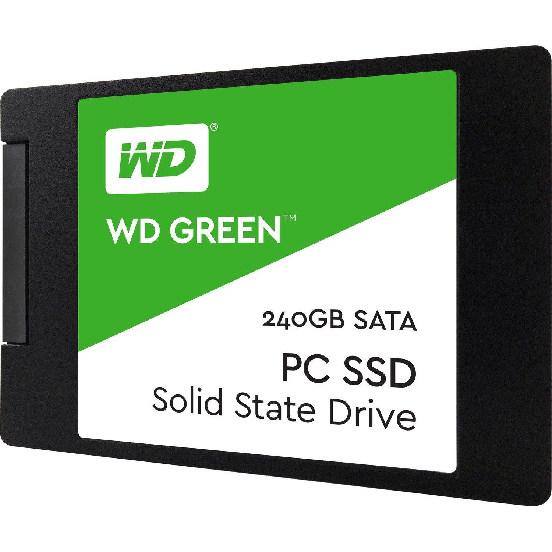 "WD Green WDS240G2G0A 240 GB Solid State Drive - 2.5"" Internal - SATA (SATA/600)"