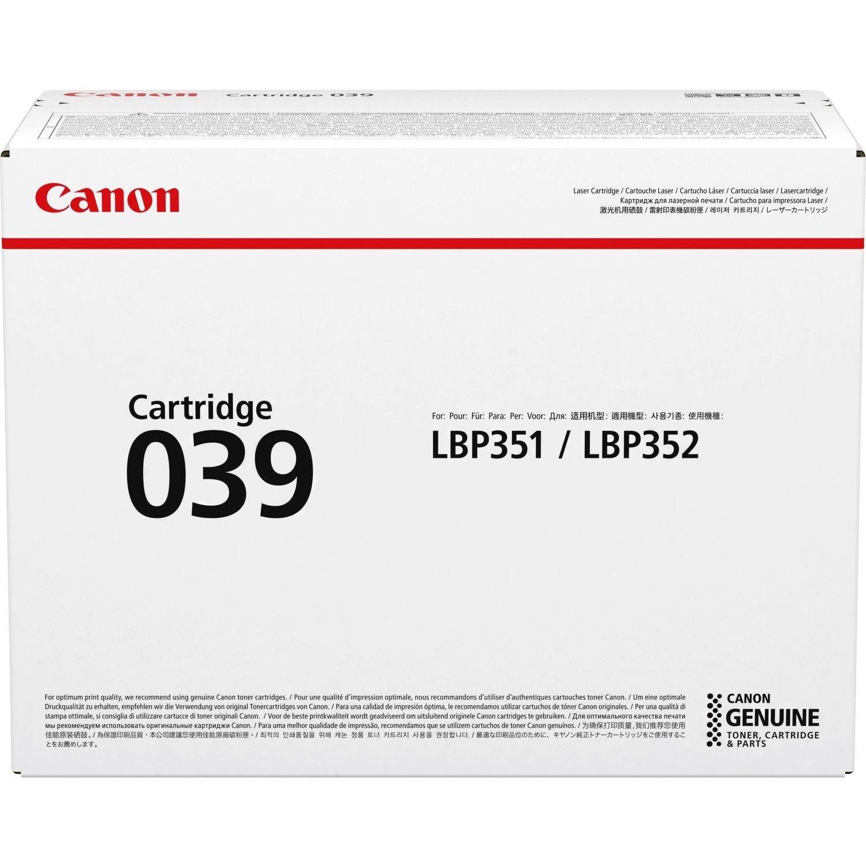 Canon 039 Original Toner Cartridge - Black