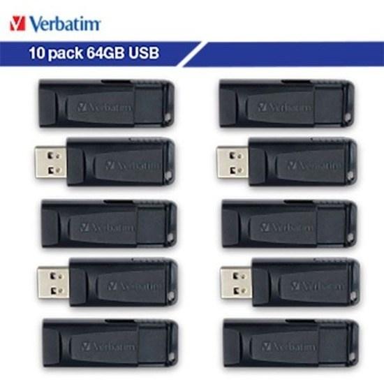 Verbatim Store 'n' Go® 64GB USB Flash Drive