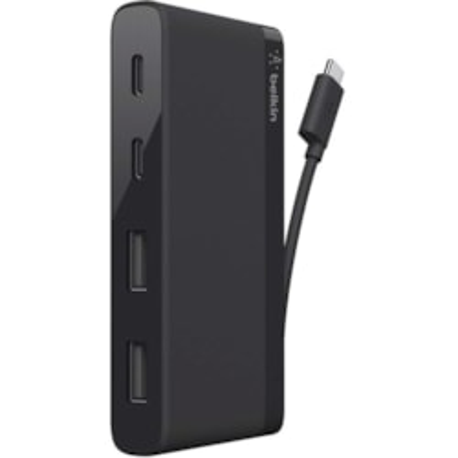 Belkin USB Hub - USB Type C - External - Black