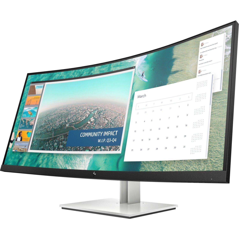 "HP Business E344c 86.4 cm (34"") WQHD Curved Screen LCD Monitor - 21:9"