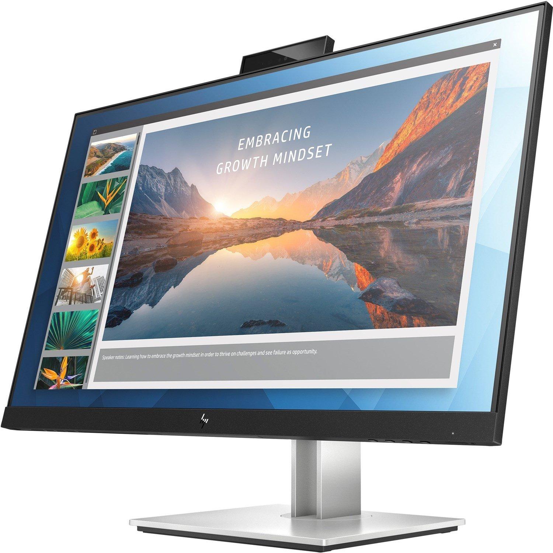 "HP E24d G4 60.5 cm (23.8"") Full HD WLED LCD Monitor - 16:9 - Black"