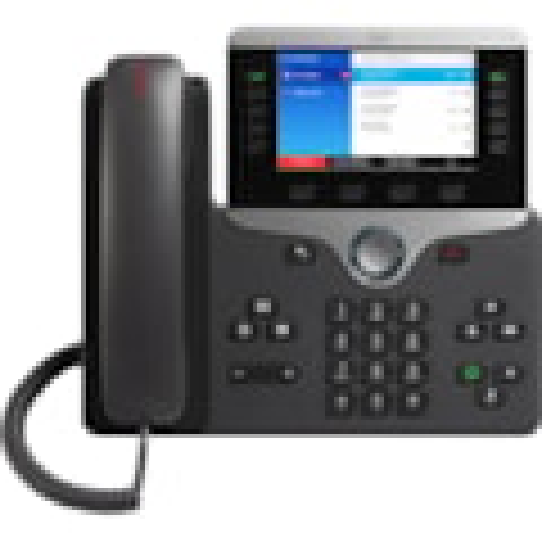 Cisco 8841 IP Phone - Corded - Corded - Wall Mountable - Charcoal