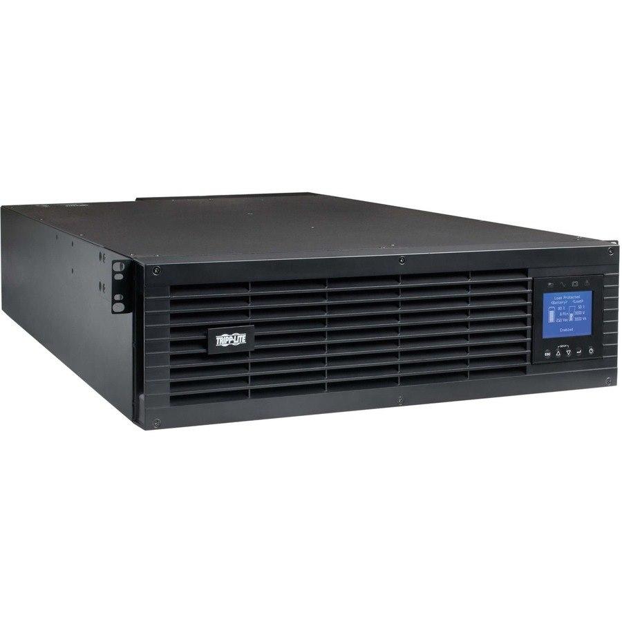 Tripp Lite UPS Smart Online 6kVA 6kW 208/240V Unity Power Factor Hardwire/L6-30P 3URM