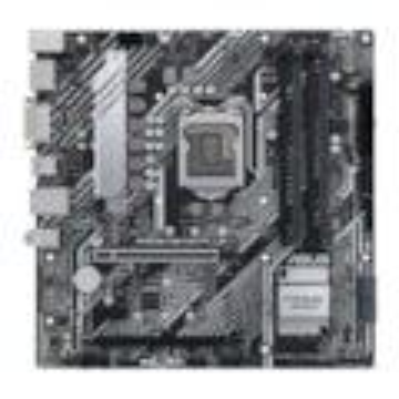 Asus Prime H570M-PLUS/CSM Desktop Motherboard - Intel Chipset - Socket LGA-1200 - Intel Optane Memory Ready - Micro ATX