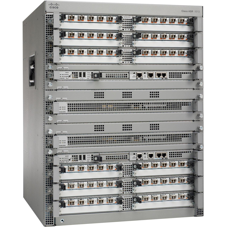 Cisco ASR1013 Chassis, Redundant P/S, Spare