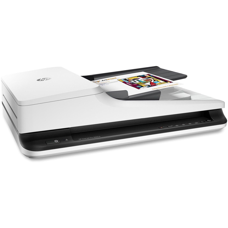 HP ScanJet Pro 2500 f1 Flatbed Scanner - 1200 dpi Optical