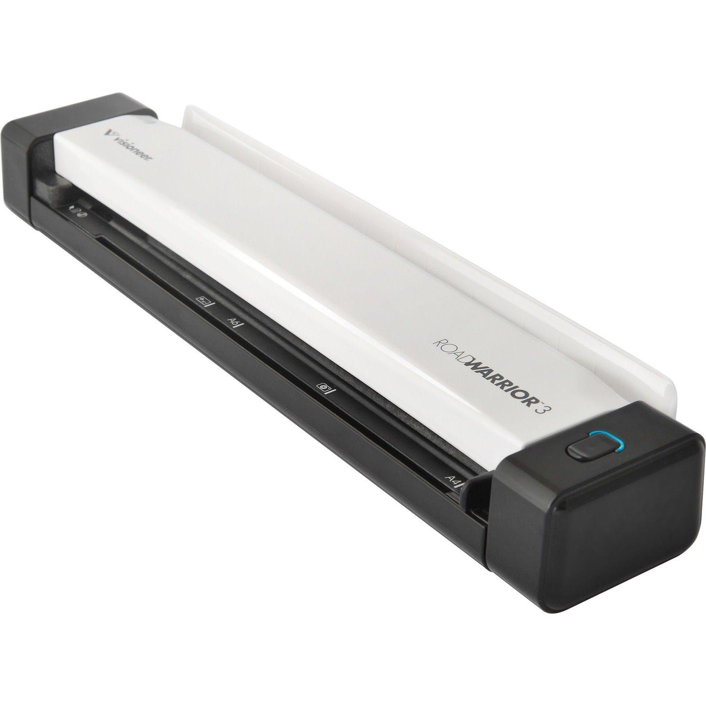Visioneer RoadWarrior RW3-WU Sheetfed Scanner - 600 dpi Optical
