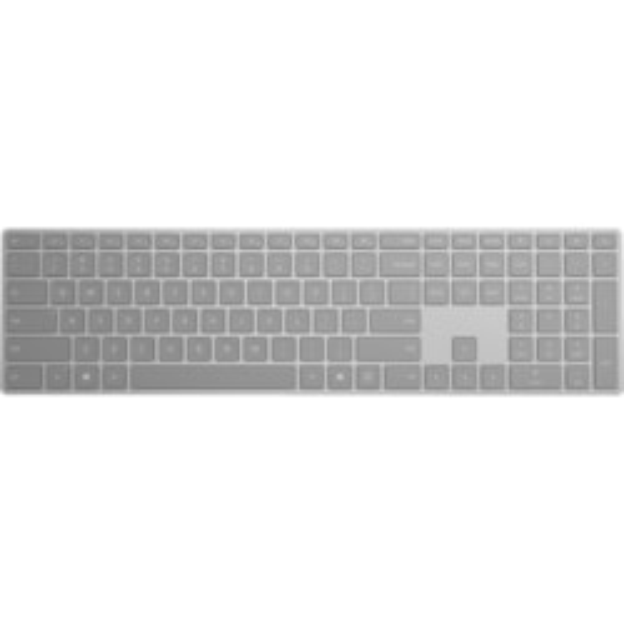 Microsoft Surface Keyboard - Wireless Connectivity - QWERTY Layout - Grey
