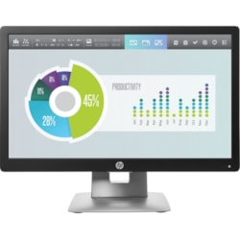 "HP Business E202 50.8 cm (20"") HD+ LED LCD Monitor - 16:9 - Black, White"