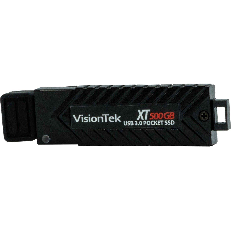 VisionTek 500GB XT USB 3.0 Pocket Solid State Drive