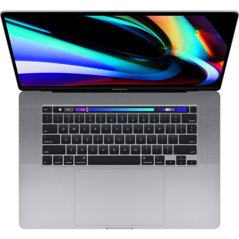 "Apple MacBook Pro MVVJ2X/A 40.6 cm (16"") Notebook - 3072 × 1920 - Intel Core i7 (9th Gen) Hexa-core (6 Core) 2.60 GHz - 16 GB RAM - 512 GB SSD - Space Gray"