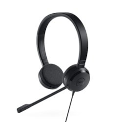 Dell UC150 Wired Over-the-head Stereo Headset - Black