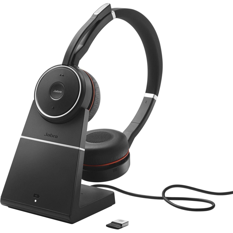 Jabra EVOLVE 75 MS Wireless Over-the-head Stereo Headset