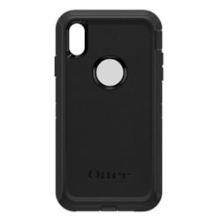 OtterBox Defender Carrying Case (Holster) Apple iPhone XS Max Smartphone - Black