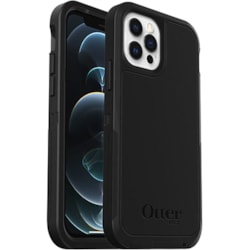 OtterBox Defender Rugged Case for Apple iPhone 12 Pro, iPhone 12 Smartphone - Black