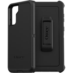 OtterBox Defender Rugged Carrying Case (Holster) Samsung Galaxy S21+ 5G Smartphone - Black