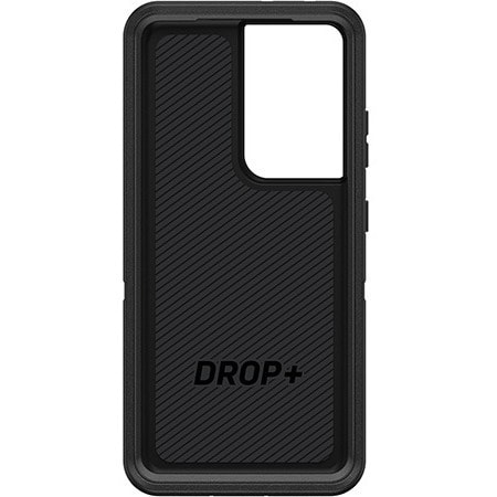 OtterBox Defender Rugged Carrying Case (Holster) Samsung Galaxy S21 Ultra 5G Smartphone - Black