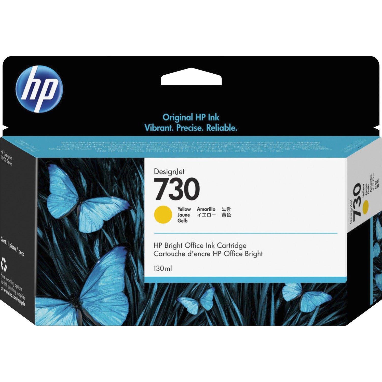 HP 730 Original Ink Cartridge - Yellow