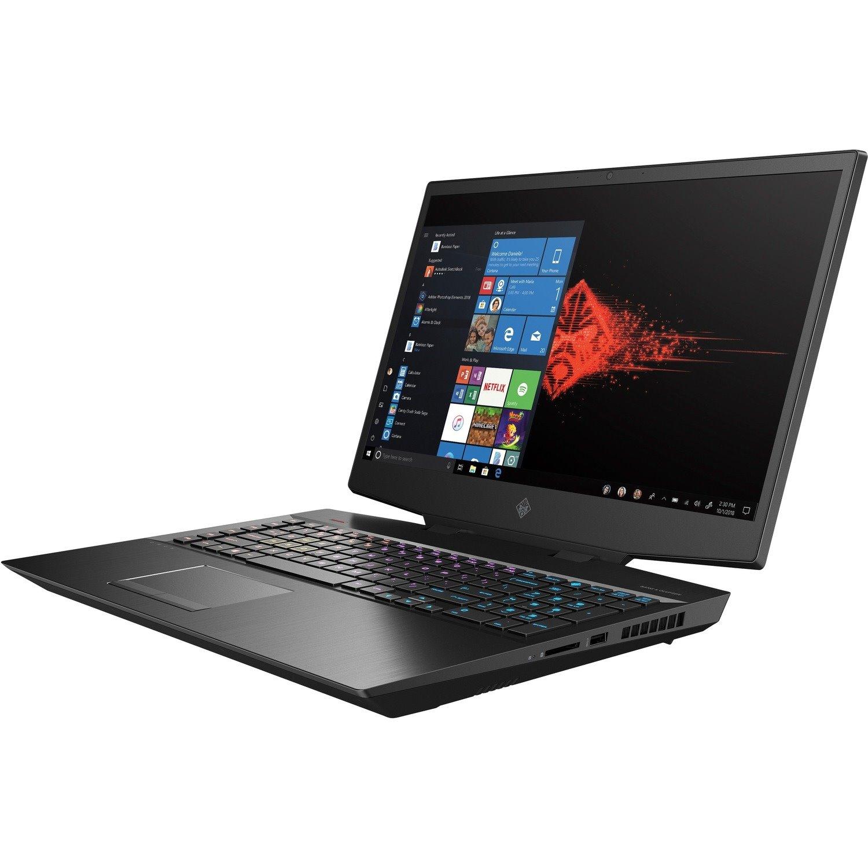 "HP OMEN 17-cb1000 17-cb1053TX 43.9 cm (17.3"") Gaming Notebook - Full HD - 1920 x 1080 - Intel Core i9 (10th Gen) i9-10885H Octa-core (8 Core) 2.40 GHz - 32 GB RAM - 1 TB SSD - Shadow Black Aluminum"