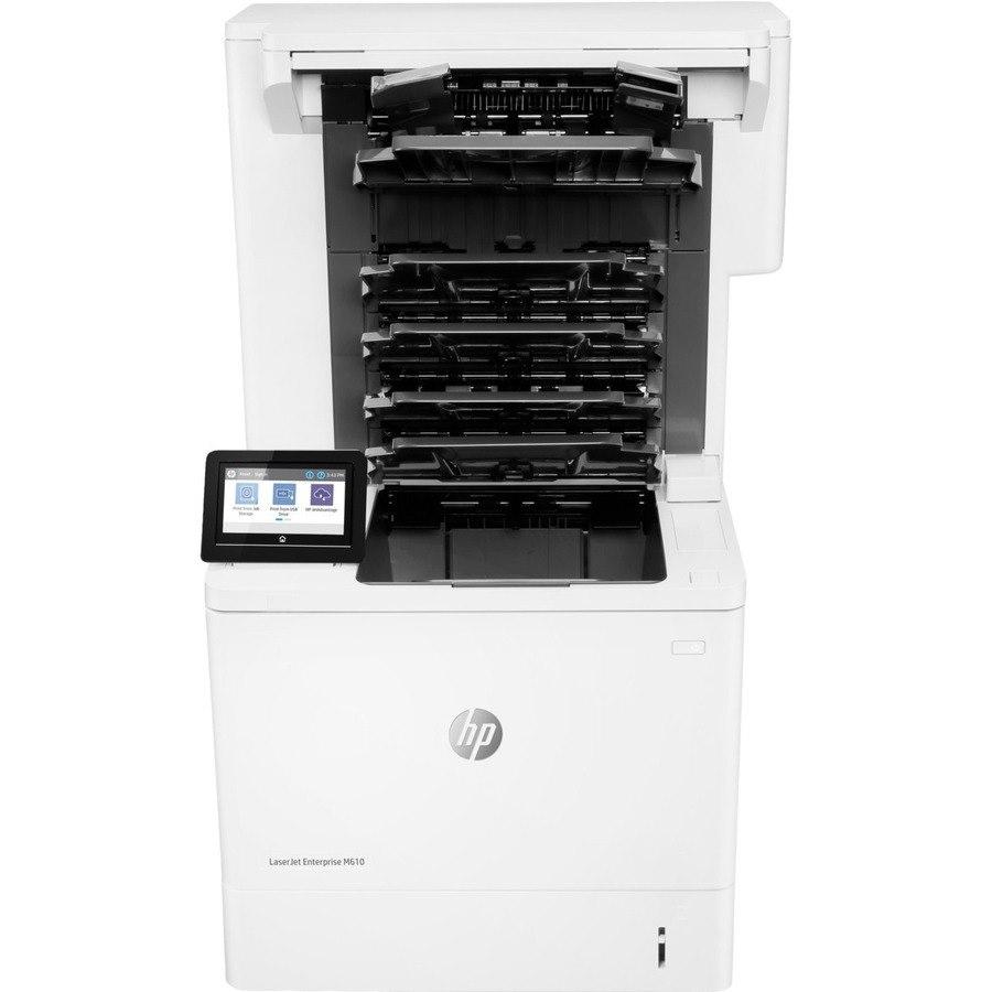 HP LaserJet Enterprise M610dn Desktop Laser Printer - Monochrome