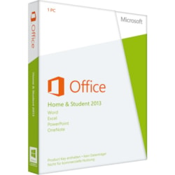 Microsoft Office 2013 Home & Student 32/64-bit - License and Media - 1 PC