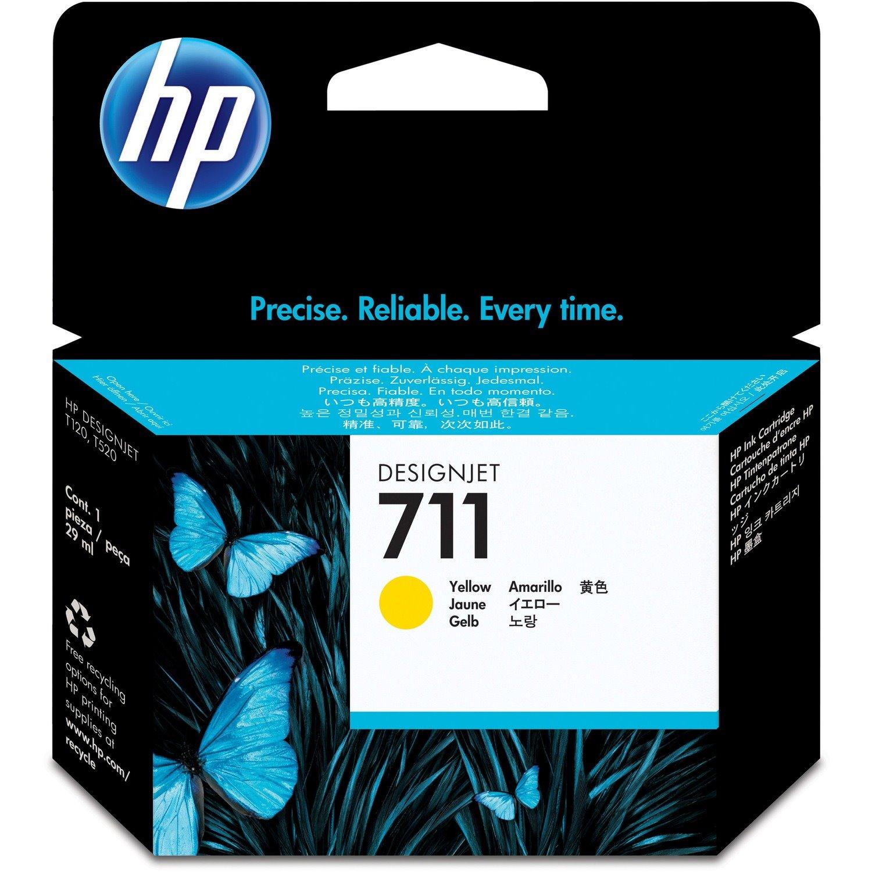HP 711 Original Ink Cartridge - Yellow