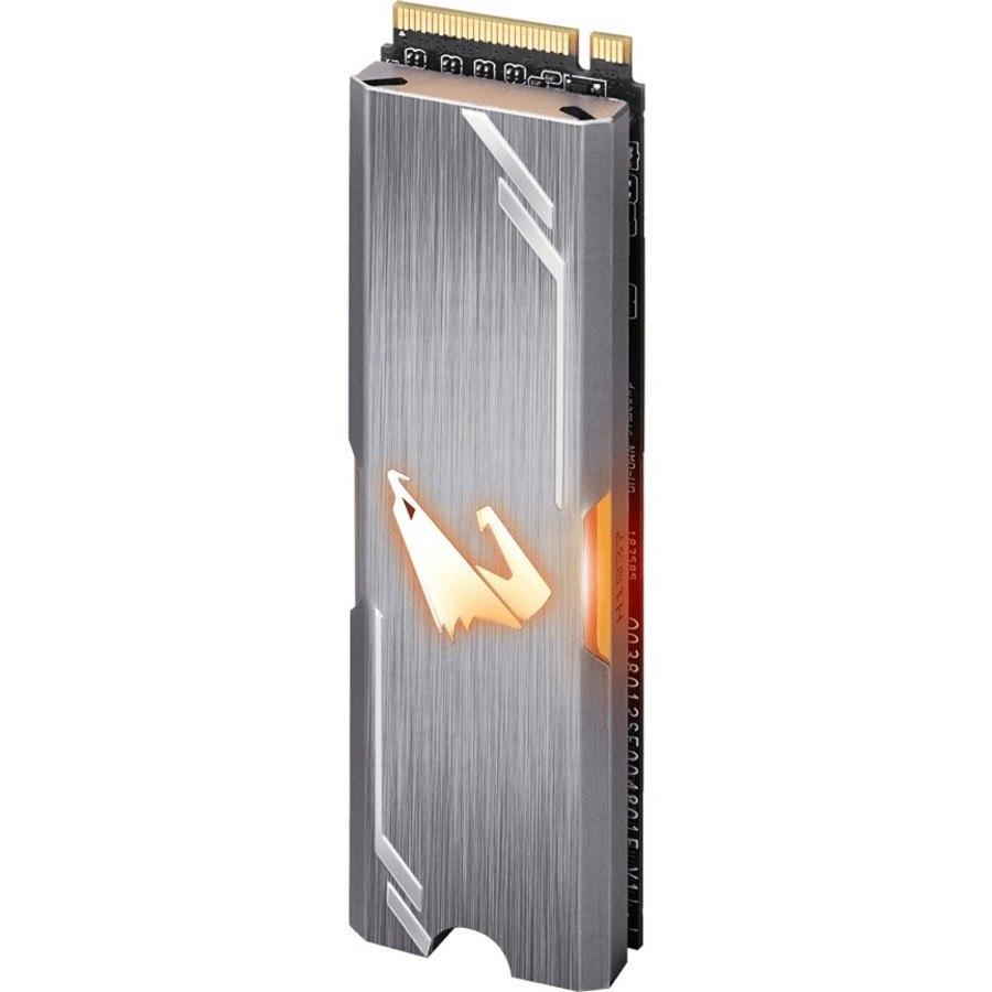 Aorus GP-ASM2NE2512GTTDR 512 GB Solid State Drive - M.2 2280 Internal - PCI Express NVMe (PCI Express NVMe 3.0 x4)