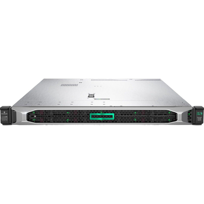 HPE ProLiant DL360 G10 1U Rack Server - 1 x Intel Xeon Gold 6248R 3 GHz - 32 GB RAM - Serial ATA/600 Controller