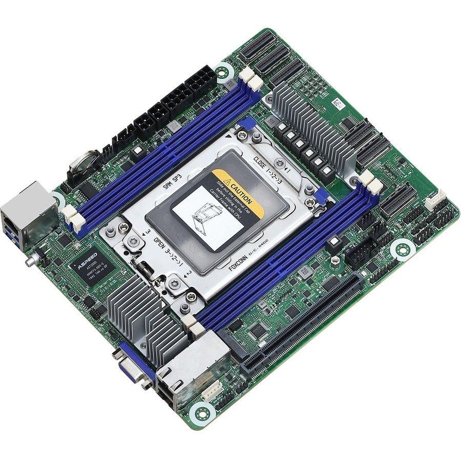 ASRock ROMED4ID-2T Desktop Motherboard - AMD Chipset - Socket SP3 - Proprietary Form Factor