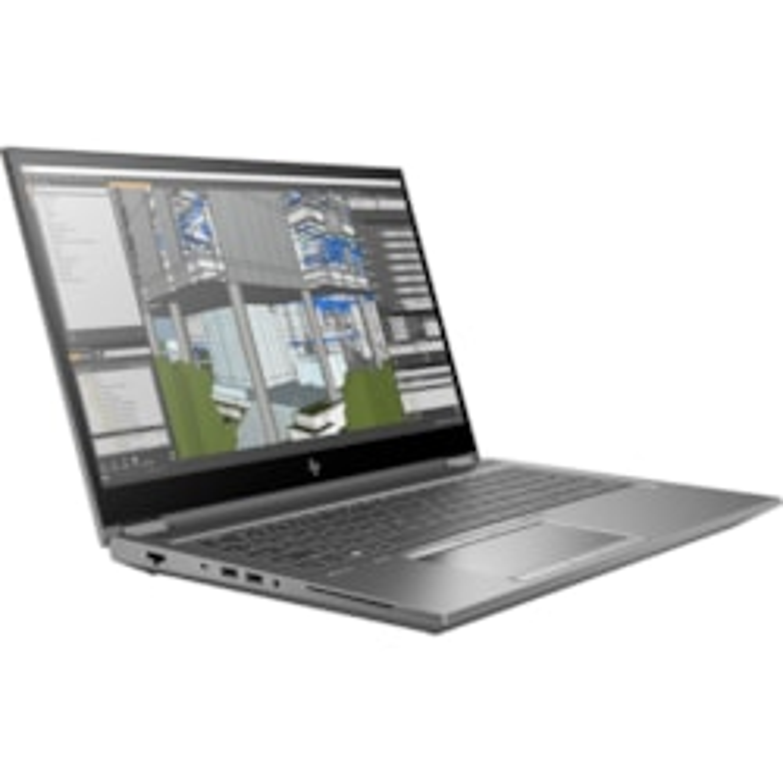 "HP ZBook Fury G7 15 G7 39.6 cm (15.6"") Mobile Workstation - Full HD - 1920 x 1080 - Intel Core i7 10th Gen i7-10750H Hexa-core (6 Core) 2.60 GHz - 16 GB RAM - 1 TB HDD - 512 GB SSD"