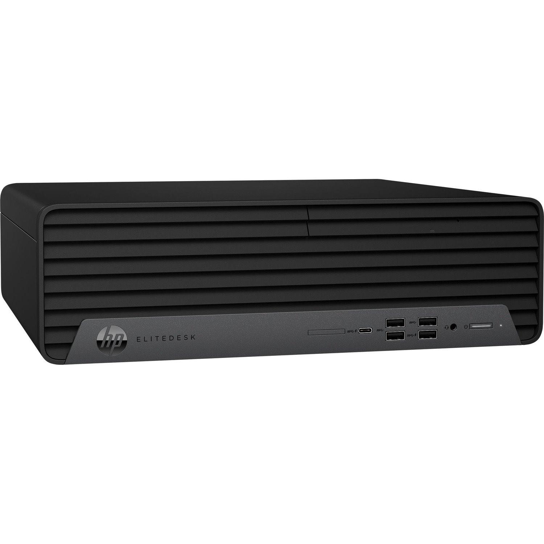 HP EliteDesk 800 G6 Desktop Computer - Intel Core i7 10th Gen i7-10700 Octa-core (8 Core) 2.90 GHz - 8 GB RAM DDR4 SDRAM - 512 GB SSD - Small Form Factor