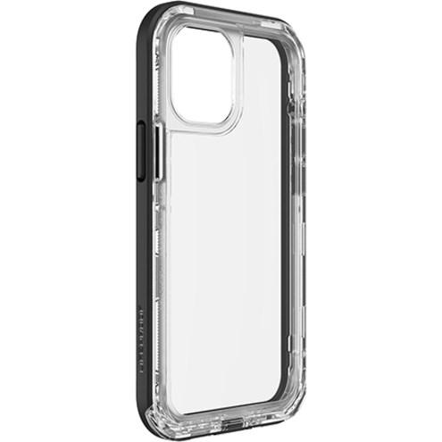 LifeProof NËXT Case for Apple iPhone 12 mini Smartphone - Black Crystal (Clear/Black)