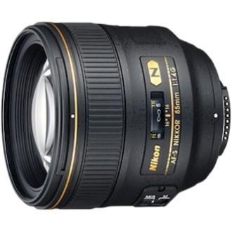 Nikon Nikkor JAA338DA - 85 mm - f/1.4 - Telephoto Fixed Lens for Nikon F